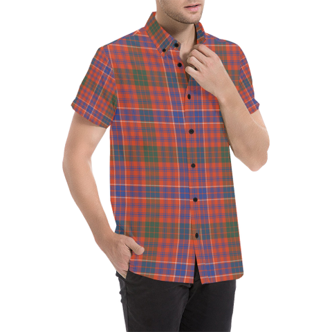Image of Tartan Shirt - Macrae Ancient | Exclusive Over 300 Clans and 500 Tartans