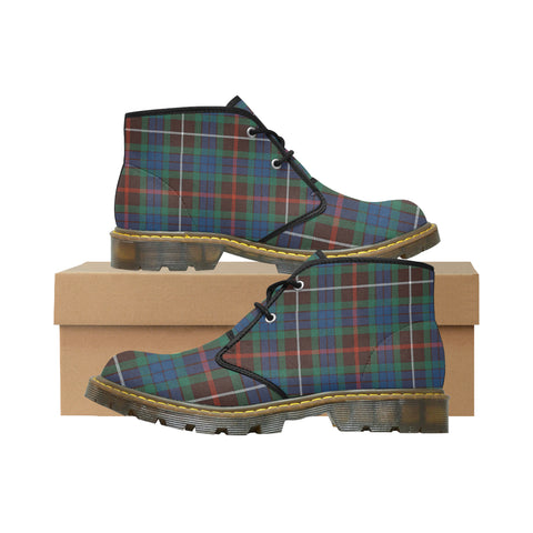 Tartan Chukka Boot - Fraser Hunting Ancient A9