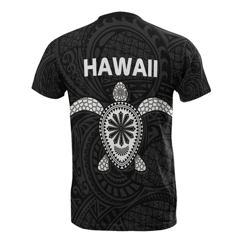 Hawaii Turtle T-Shirts - Polynesian Style Bn10