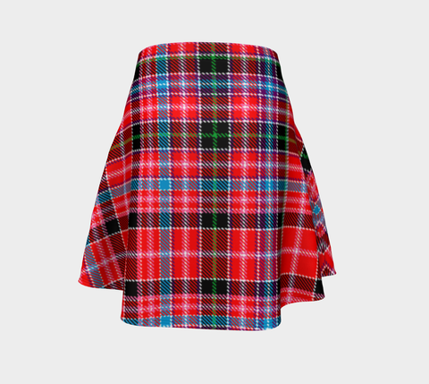 Tartan Skirt - Aberdeen District Women Flared Skirt A9 |Clothing| 1sttheworld