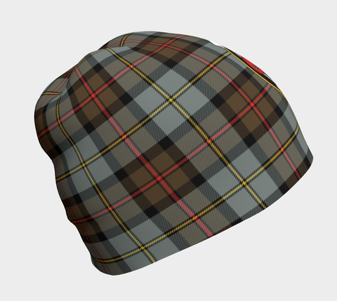 Image of MacLeod of Harris Weathered Tartan Clan Crest Beanie