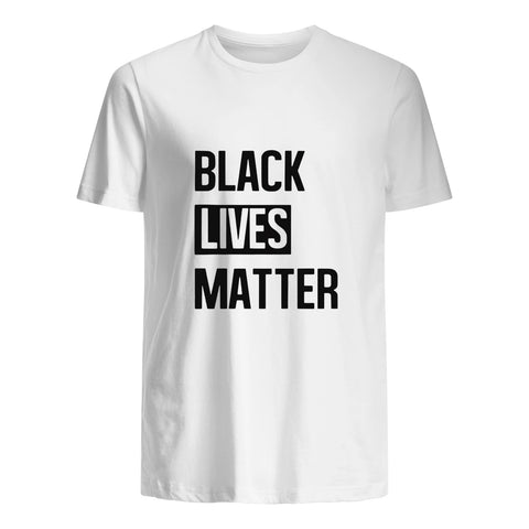 George Floyd Cotton T-Shirt - Black Lives Matter A7