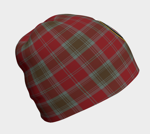 Image of Lindsay Weathered Tartan Clan Crest Beanie
