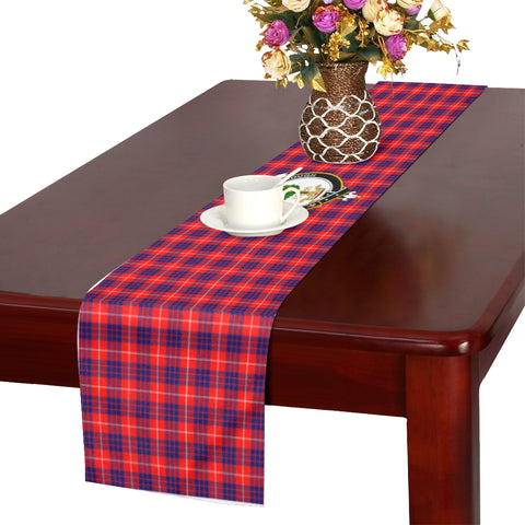 Image of Hamilton Modern Tartan Table Runner - BN