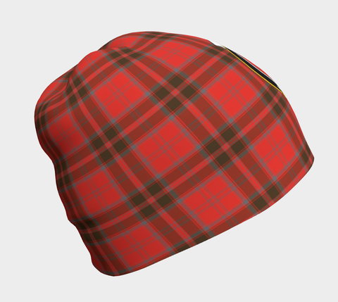 Image of Grant Weathered Tartan Clan Crest Beanie