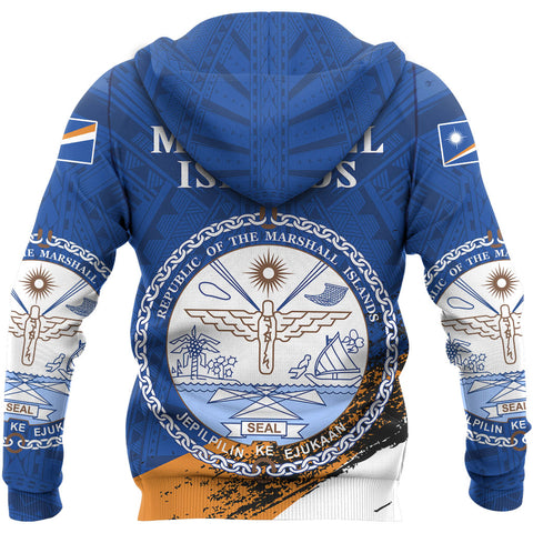 Marshall Islands Micronesia Special Zipper Hoodie A7