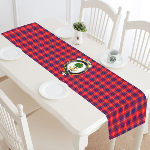 Hamilton Modern Tartan Table Runner - Bn | 1sttheworld.com