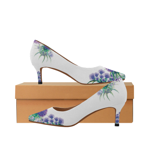 Scotland Low Heel Pumps - Thistle A2