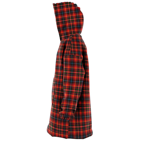 Image of Innes Modern Snug Hoodie - Unisex Tartan Plaid Left