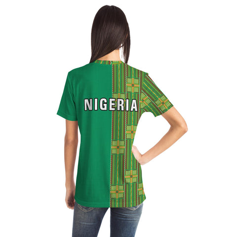 Latest Ankara T-Shirt - Nigeria 2019 TH5