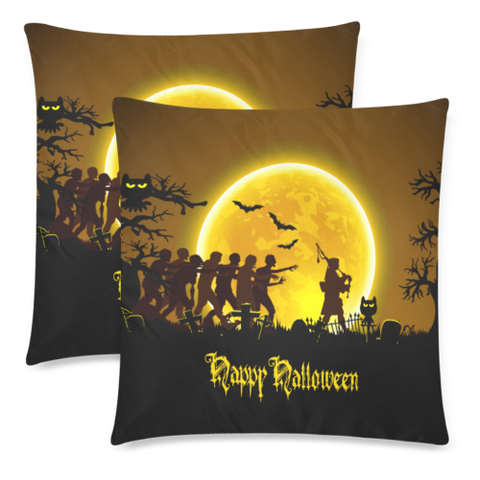 Love The World | Scotland Pillow - Halloween Time | Special Custom Design