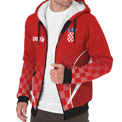 Croatia Active Sherpa Hoodie | Clothing | Love the World