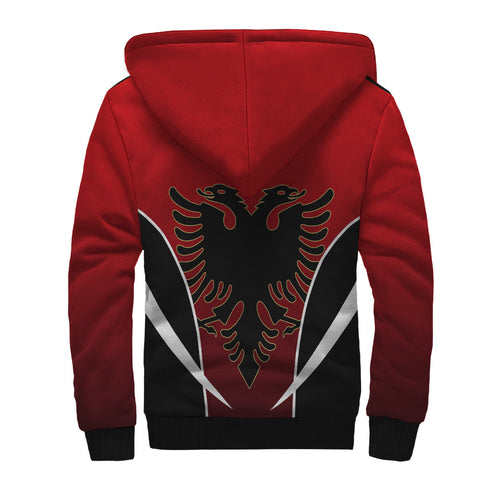 Albania Active Sherpa Hoodie | Clothing | Love the World
