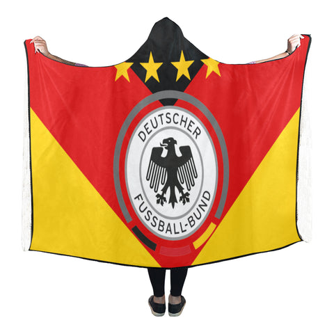 Image of Germany World Cup Hooded Blanket 01 - Bn03 | Love The World