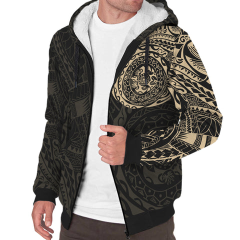 Polynesian Tattoo Style Sherpa Hoodie Version 2.0 | Women & Men