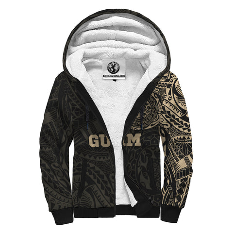 Image of Guam Tattoo Style - Sherpa Hoodie A7