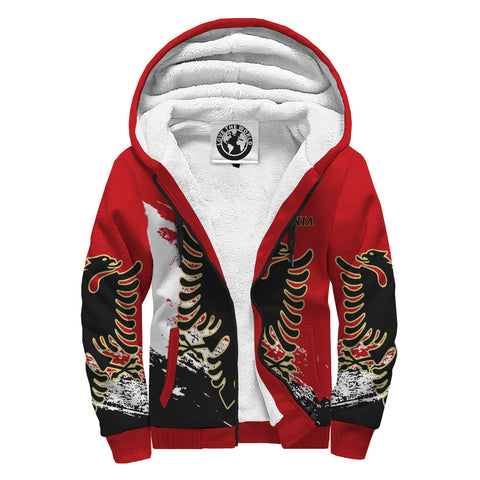 Albania Special Sherpa Hoodie A7