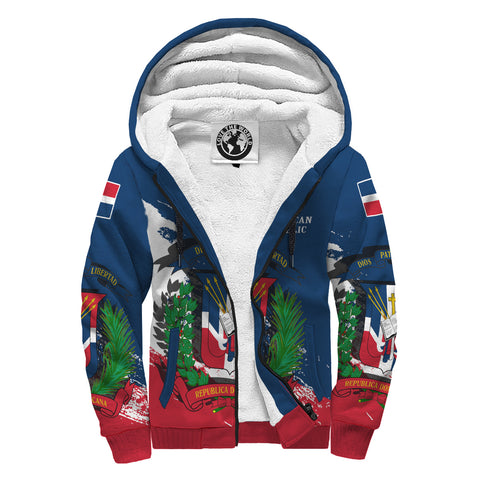 Dominican Republic Special Sherpa Hoodie A7