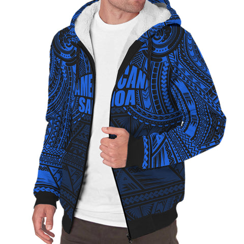 Image of American Samoa Sherpa Hoodie | Men & Women | Polynesian Clothing
