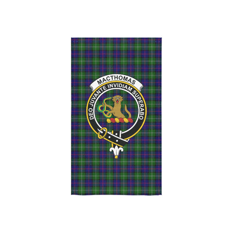 MacThomas Modern Tartan Towel Clan Badge NN5