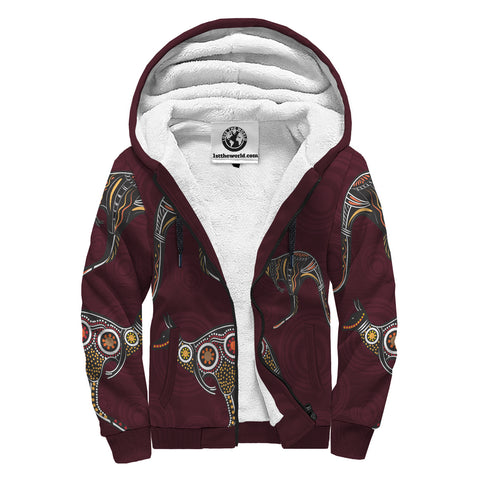 Image of Aboriginal 5th Sherpa Hoodie A7