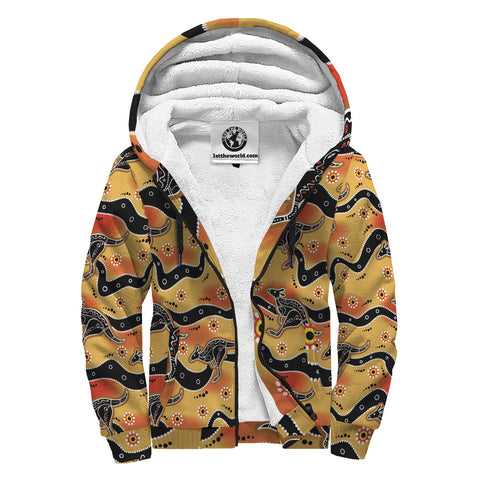 Image of Aboriginal 7th Sherpa Hoodie A7