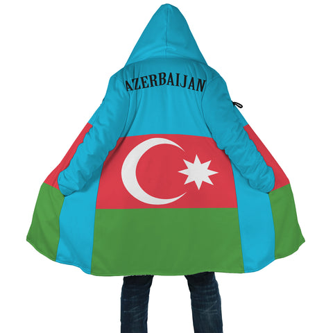 Image of Azerbaijan All Over Print Cloak | High Quality | Hot Sale