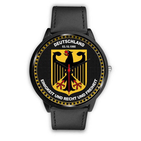Germany Coat Of Arms Black Watch A5 |Men and Women| 1sttheworld