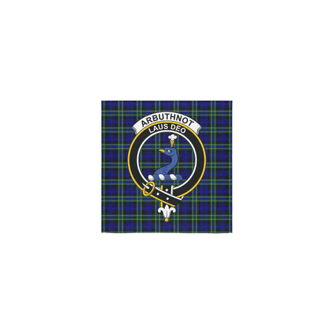 Arbuthnot Modern Tartan Towel Clan Badge | 1sttheworld.com