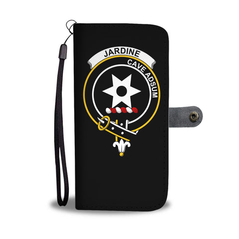 Jardine Tartan Wallet Phone Case Half Of Me Clan Badge | 1stthworld.com