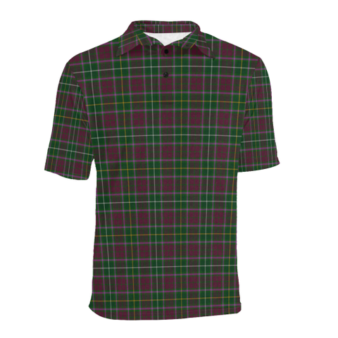 Image of Crosbie  Tartan Polo Shirt HJ4