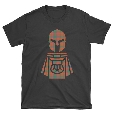 MacKintosh Ancient Tartan Kilt Warrior T-Shirt
