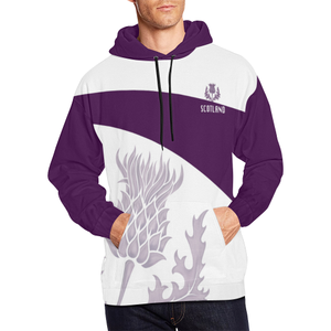 Scotland Hoodie - Unisex Purple Thistle Scottish Pride | Hot Sale