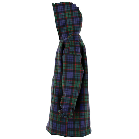Fletcher Modern Snug Hoodie - Unisex Tartan Plaid Left