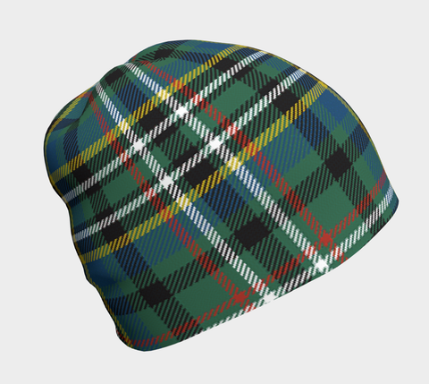 Image of SCOTT GREEN ANCIENT TARTAN BEANIE