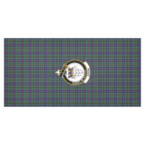 Image of Wood Crest Tartan Tablecloth | Home Decor