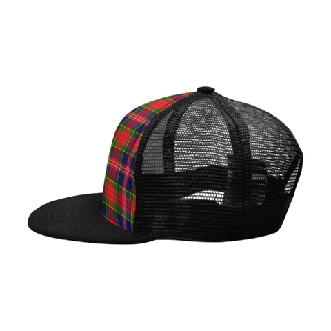 Image of Macpherson Modern Tartan Trucker Hat - All Over Print K18