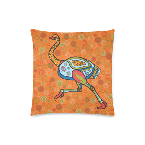 Aboriginal Emu Pillow Covers NN6