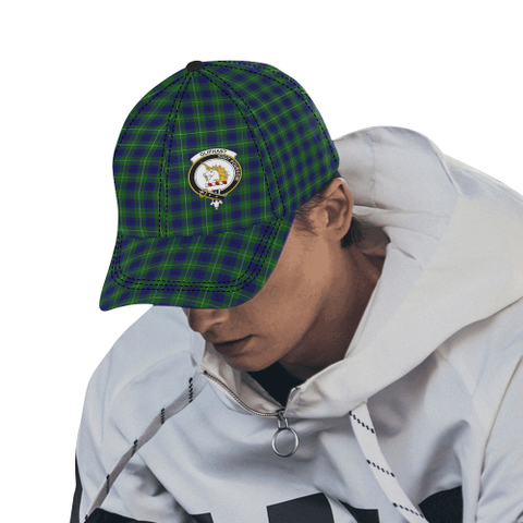 Oliphant Modern Clan Badge Tartan Dad Cap - BN04
