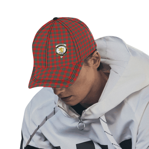 Cumming Modern Clan Badge Tartan Dad Cap - BN03