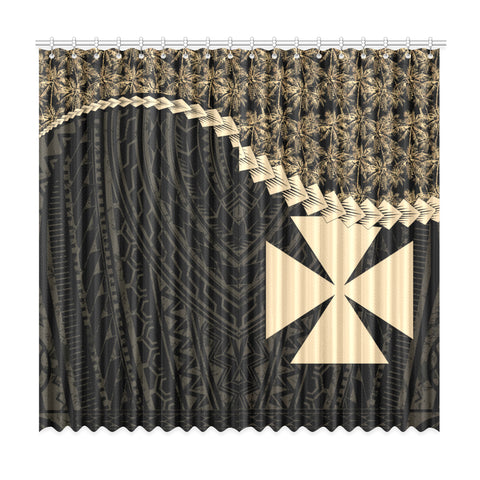 Image of Wallis and Futuna Window Curtain Coconut Golden | Home Decor | 1sttheworld