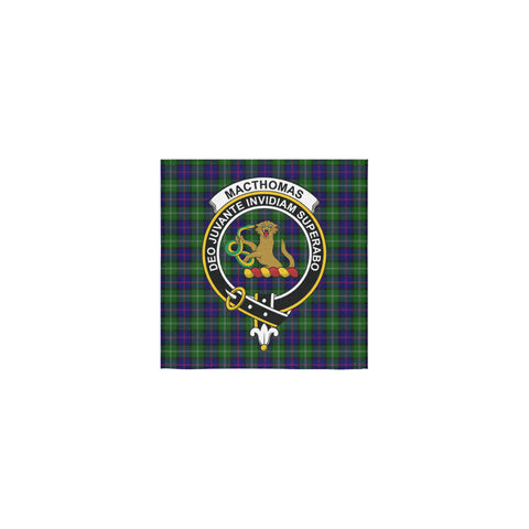 MacThomas Modern Tartan Towel Clan Badge | 1sttheworld.com