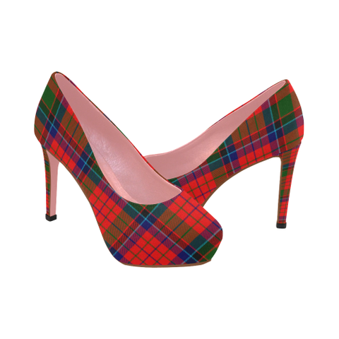 Nicolson Modern Tartan Heels - Women's Tartan High Heels Th8 |Footwear| 1sttheworld