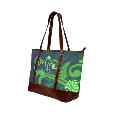 Special Edition of New Zealand Fern - Fern Tote Handbag