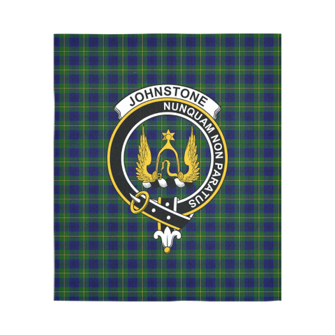 Johnstone Tartan Tapestry Clan Badge K5