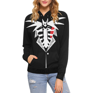 Jack Skellington Tuxedo All Over Print Hoodie Halloween H5