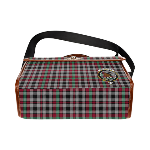 Tartan Canvas Bag - Borthwick Clan | Waterproof Bag | Scottish Bag