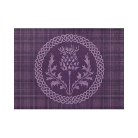 Scotland Placemat - Purple Thistle (Six Pieces) A9