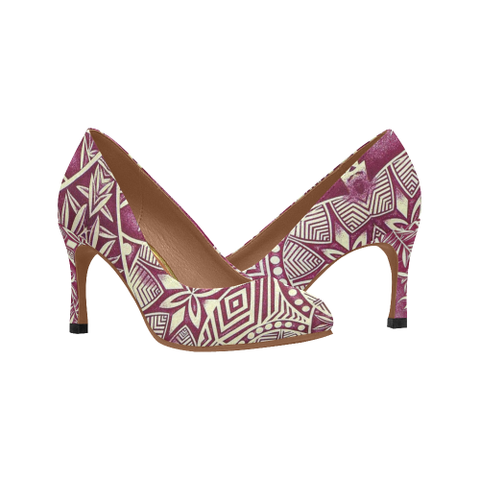 Image of Polynesian Hawaii High Heels 01 HJ4