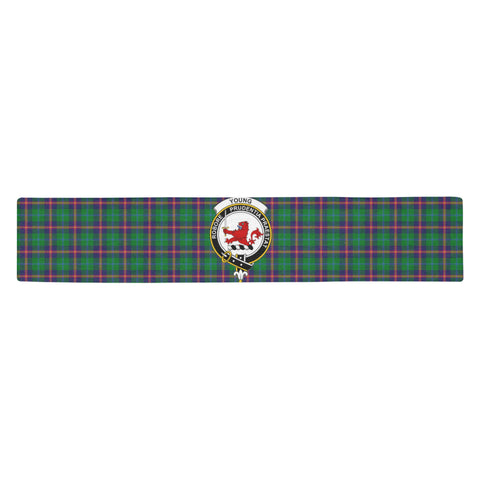 Young Modern Tartan Table Runner - BN